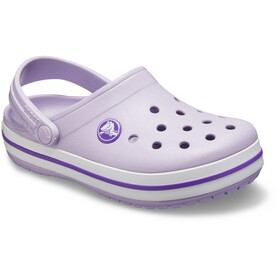 Crocs Crocband Clogs Kinder lavender/neon purple